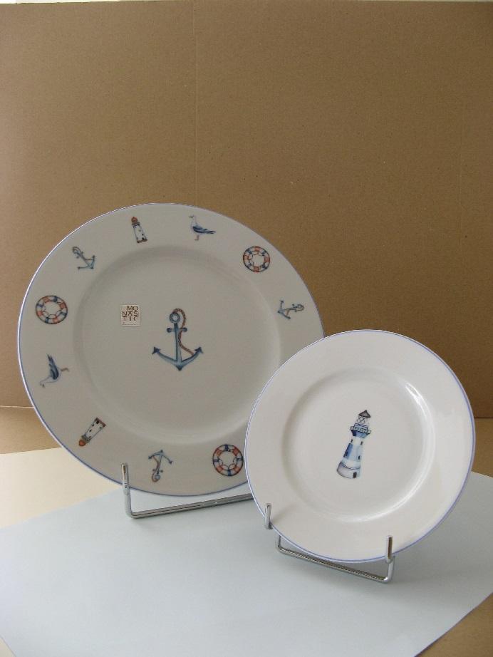 porcelaine - assiettes plates