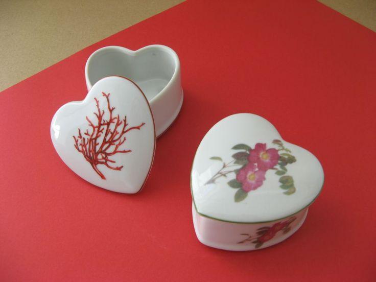 porcelaine- boite coeur 2