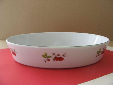 porcelaine - plat a rotir ovale 2