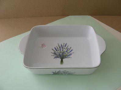 porcelaine - plat a rotir