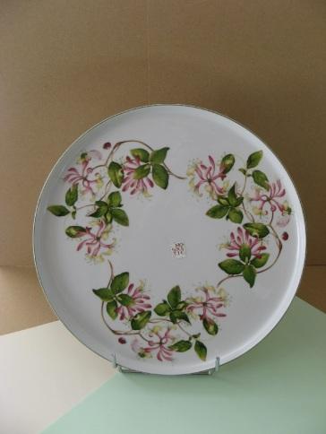 porcelaine - plat a tarte