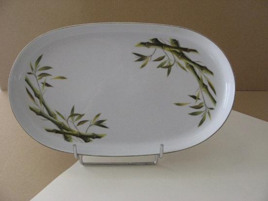 porcelaine - plat ovale Elysee