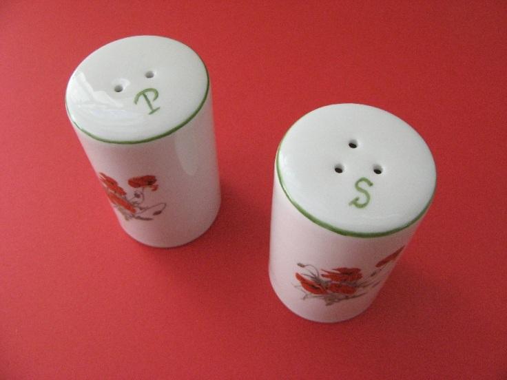 porcelaine - poivre et sel