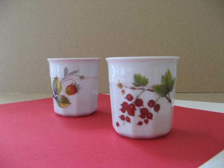 porcelaine - pot de confiture