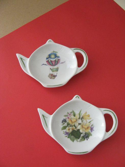 porcelaine - repose sachet de the