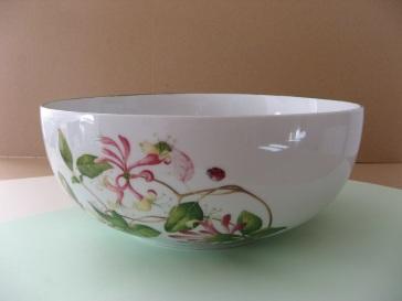 porcelaine - saladier boule
