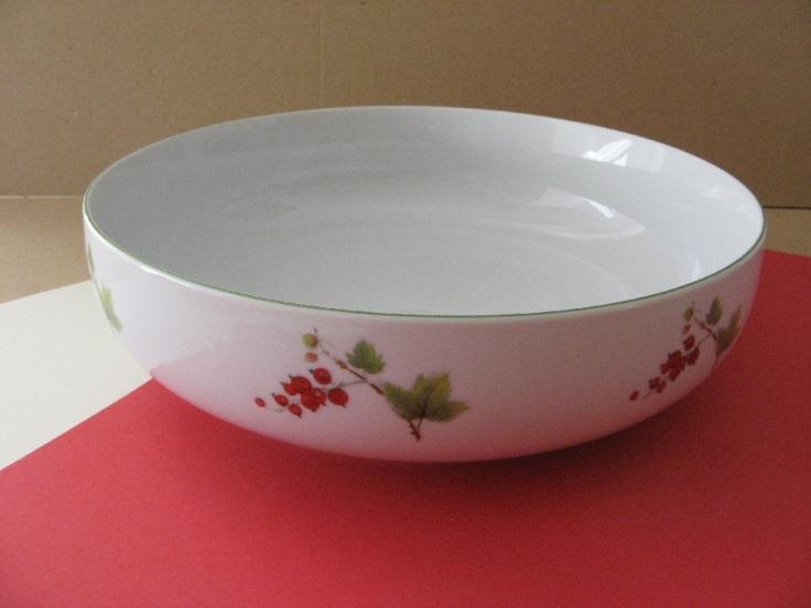 porcelaine - saladier Elysee