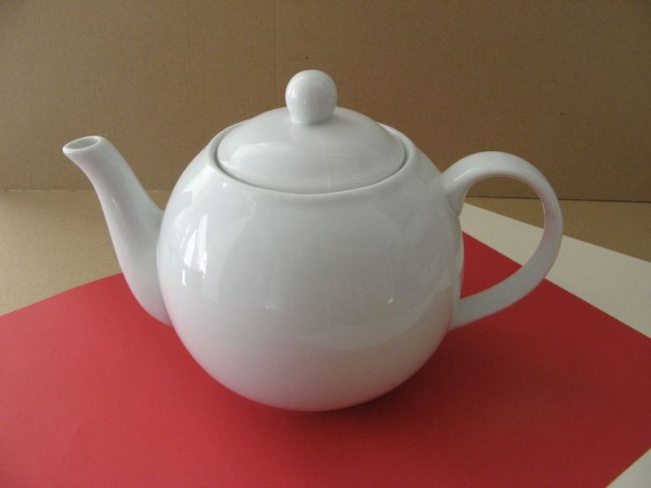 porcelaine - theiere moderna