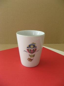 porcelaine - verre conique 2